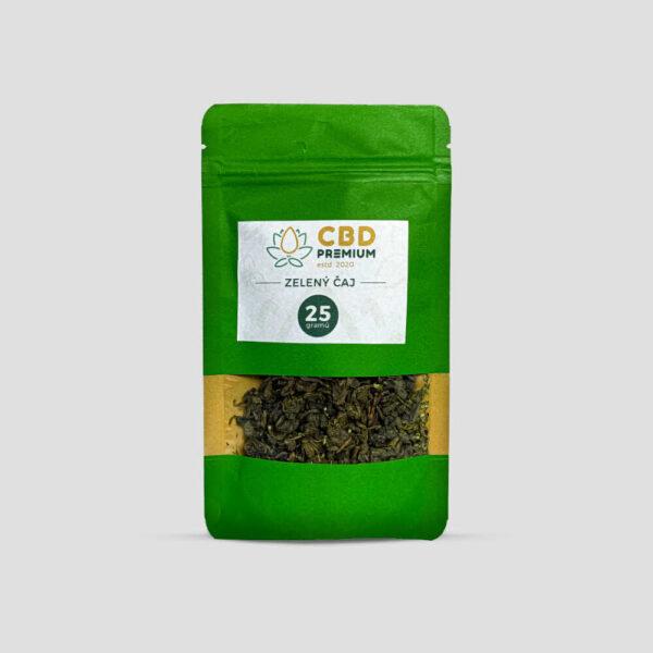 zelený čaj s CBD